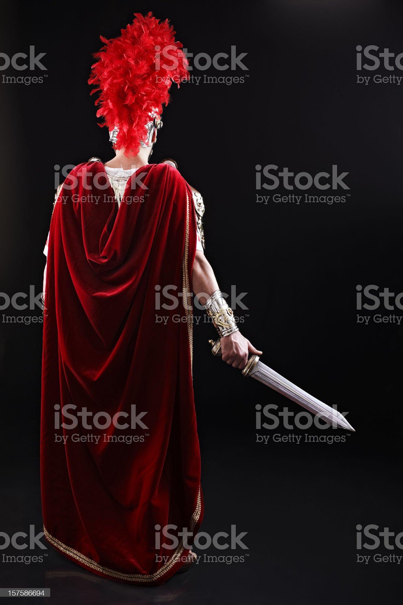 Centurion royalty-free stock photo