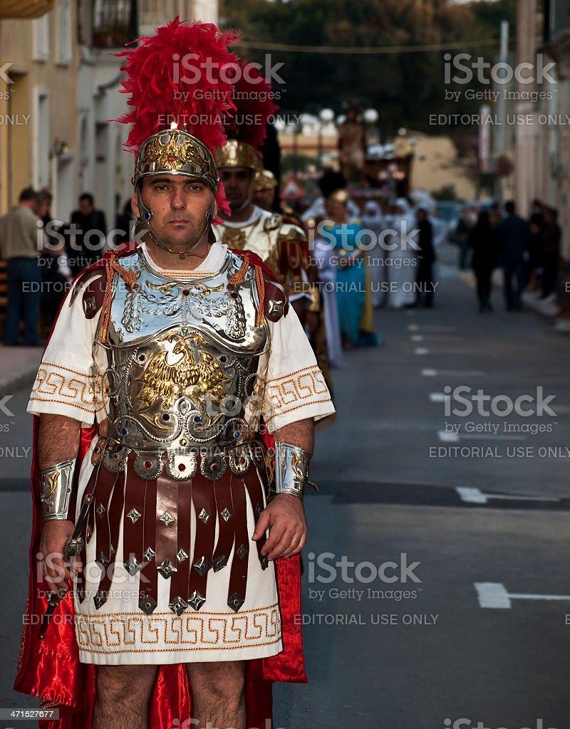 Centurion stock photo