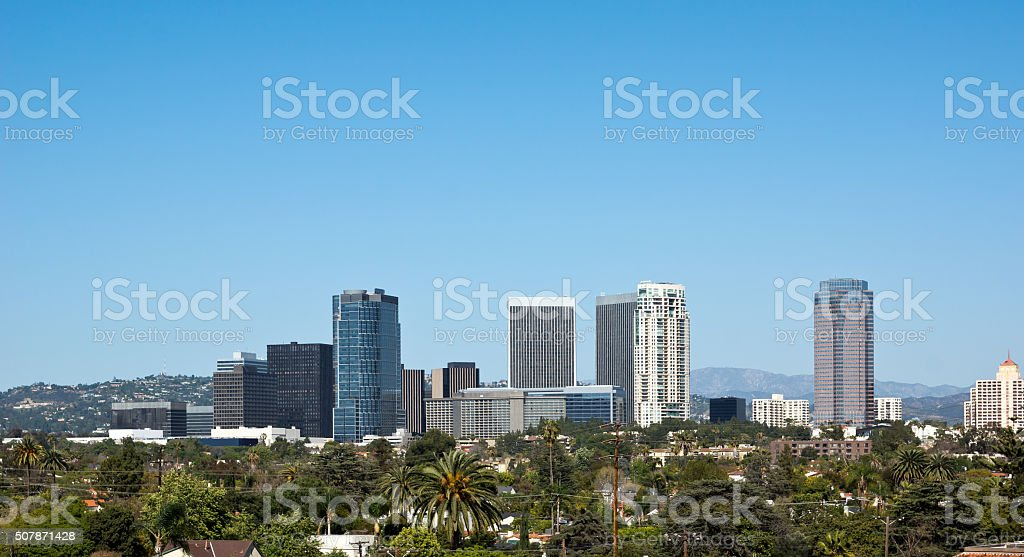 Century City in California stock photo