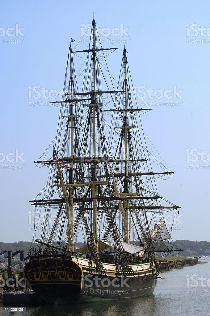 XIX Century Merchant Ship stock photo