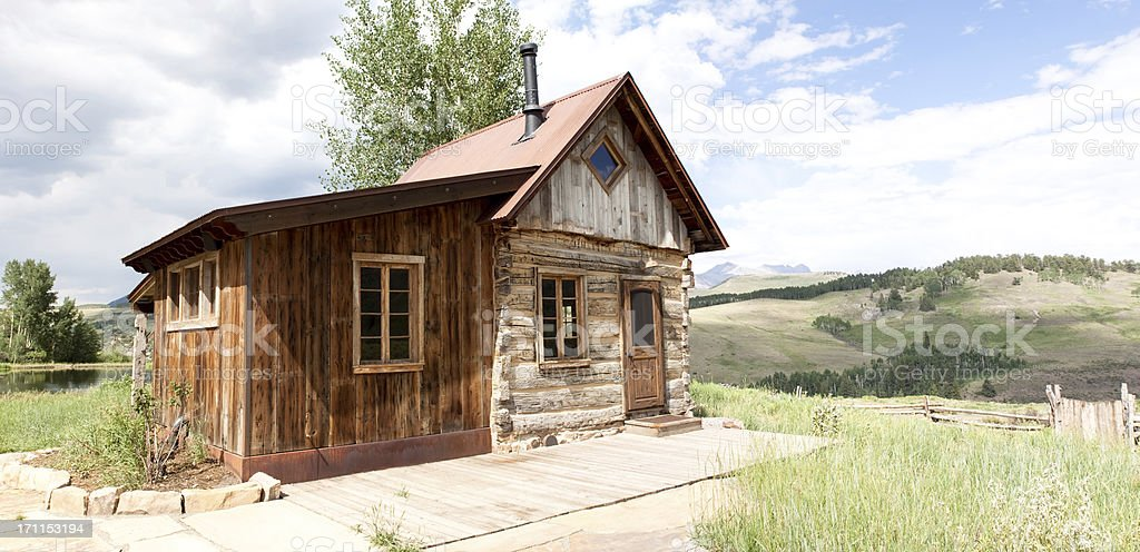 Century old homestead royalty-free stock photo