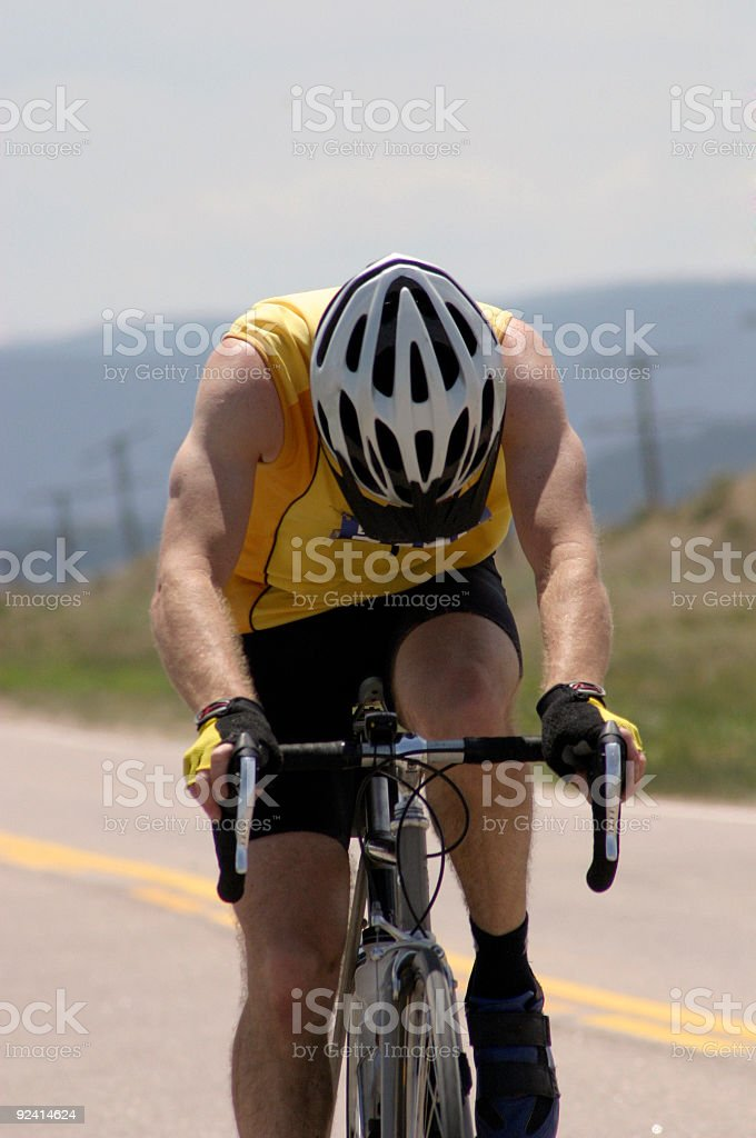 Century Rider royalty-free stock photo