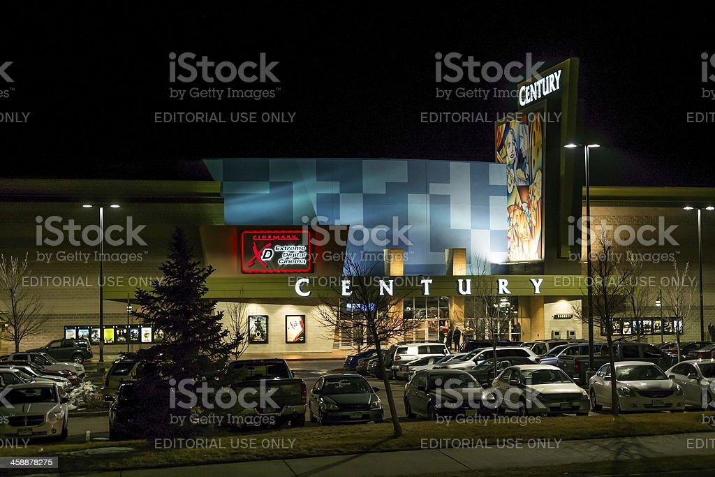 Century Theater in Aurora Colorado Re-opens stock photo