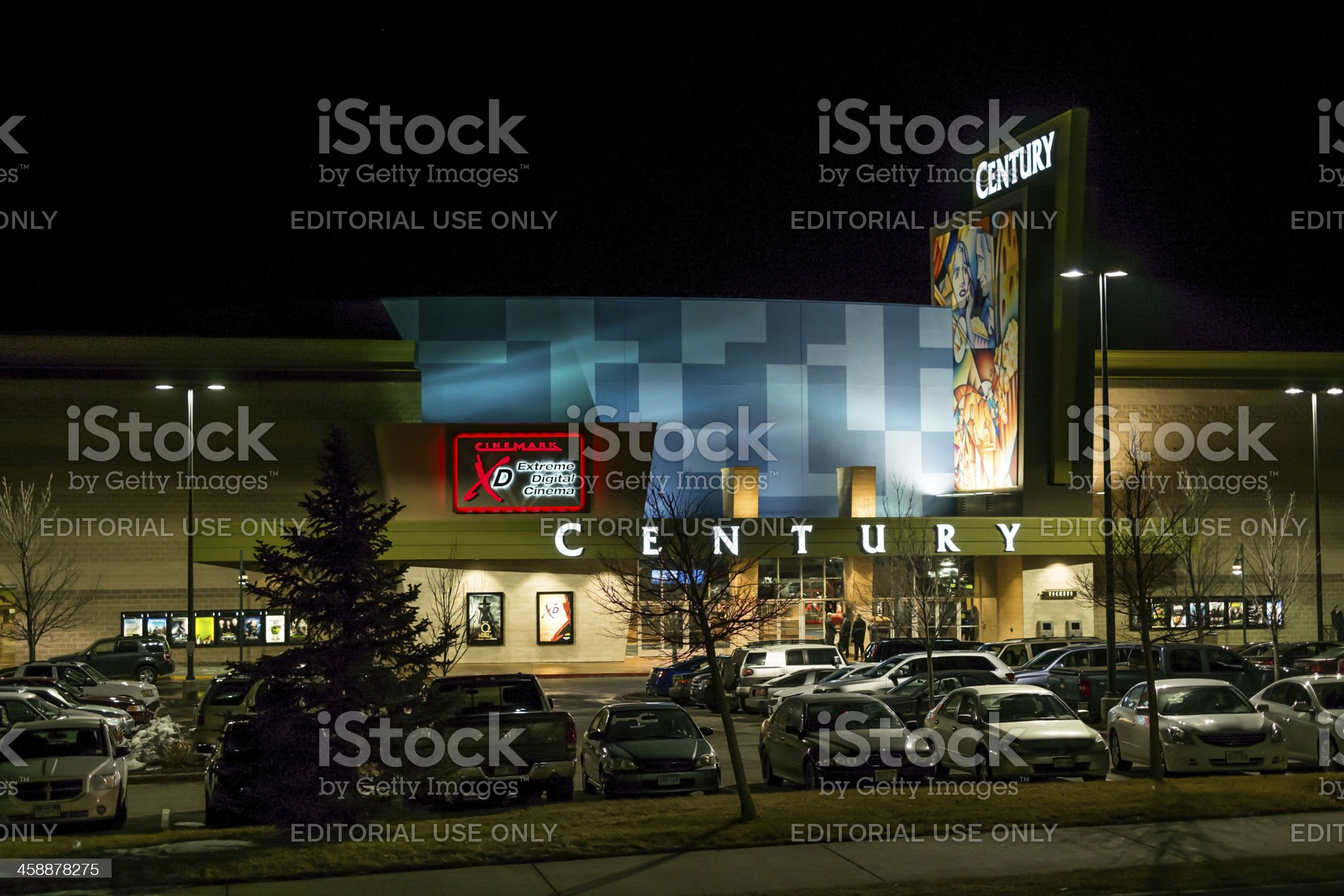 Century Theater in Aurora Colorado Re-opens royalty-free stock photo