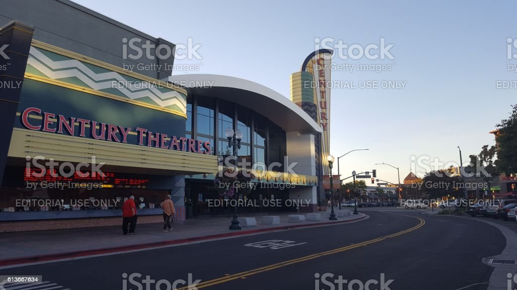 Century Theatres stock photo