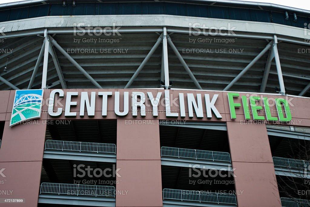 Centurylink Field stock photo