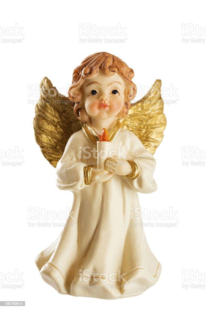 Ceramic Angel royalty-free stock photo