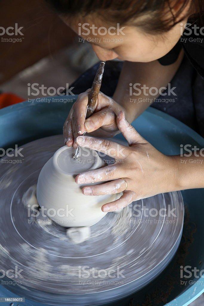 Ceramic art royalty-free stock photo