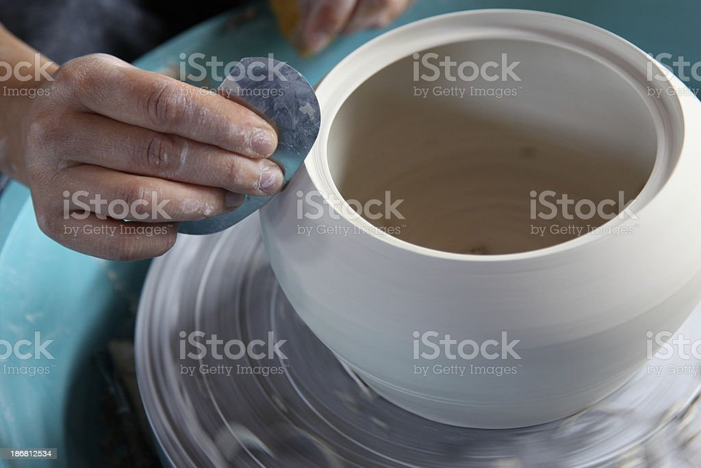 Ceramic art stock photo