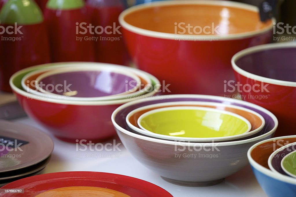 Ceramic Bowl royalty-free stock photo