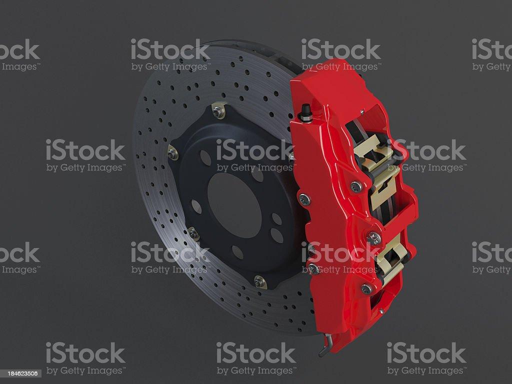 Ceramic Brake System stock photo