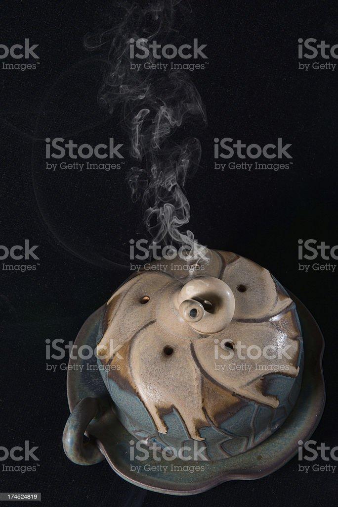 Ceramic Censer royalty-free stock photo