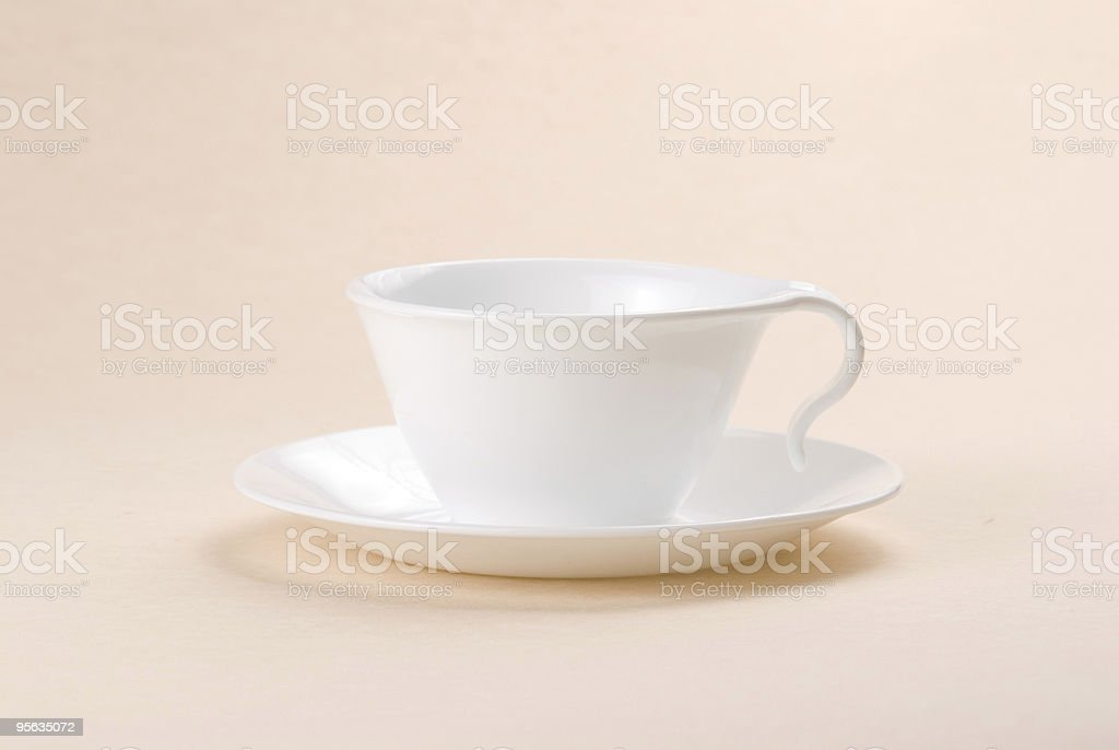 ceramic cup for coffee or tea royalty-free stock photo