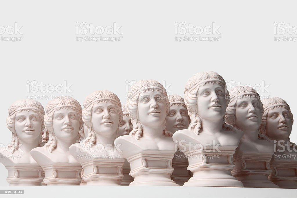 Ceramic figurines of Ceres royalty-free stock photo