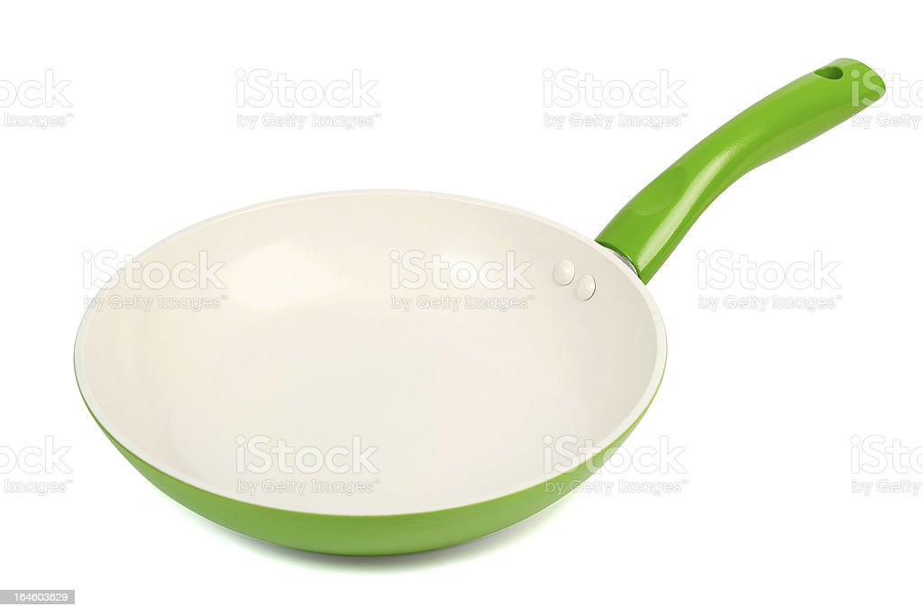 Ceramic Frying Pan royalty-free stock photo