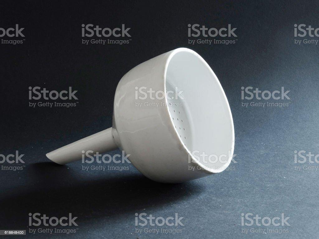 ceramic laboratory ware stock photo