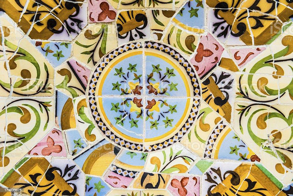Ceramic Mosaic royalty-free stock photo