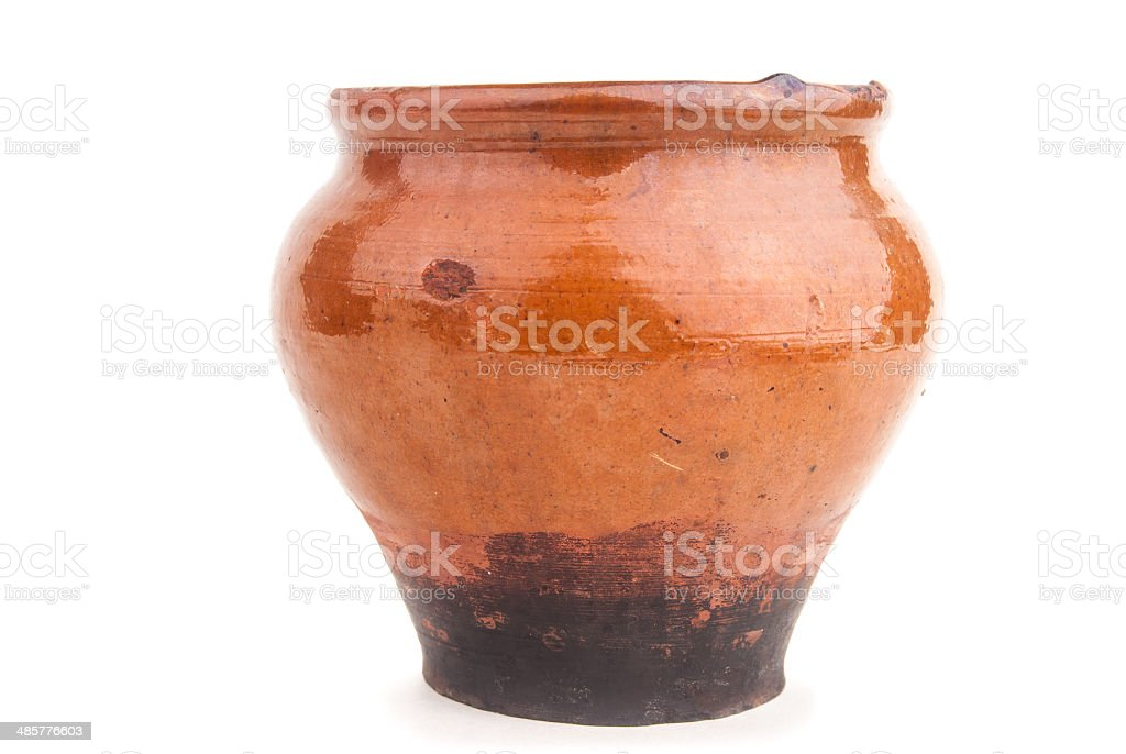 ceramic pot stock photo