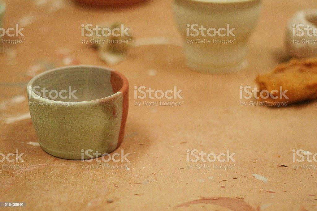 Ceramic Pottery stock photo