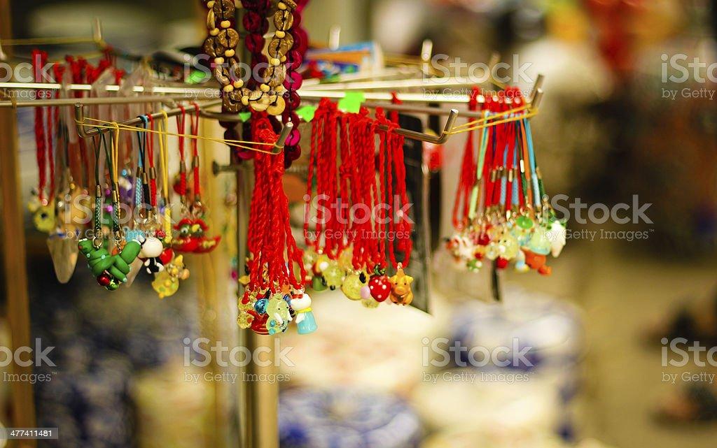 Ceramic products in Bat Trang village - Vietnam stock photo