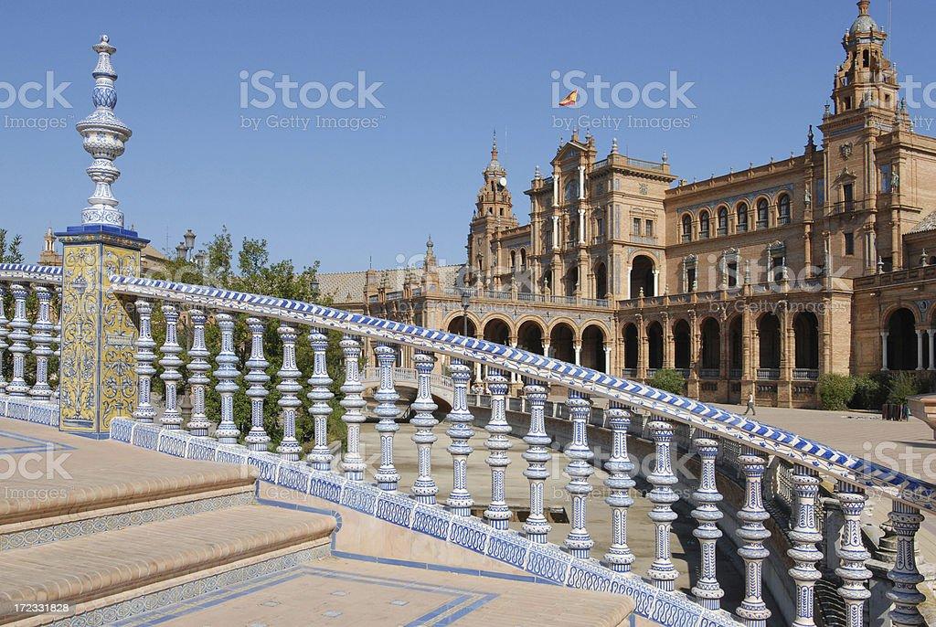 Ceramic Steps, Seville royalty-free stock photo