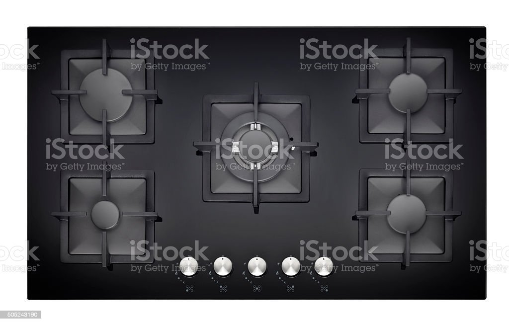 Ceramic Stove - Cooking Surface stock photo