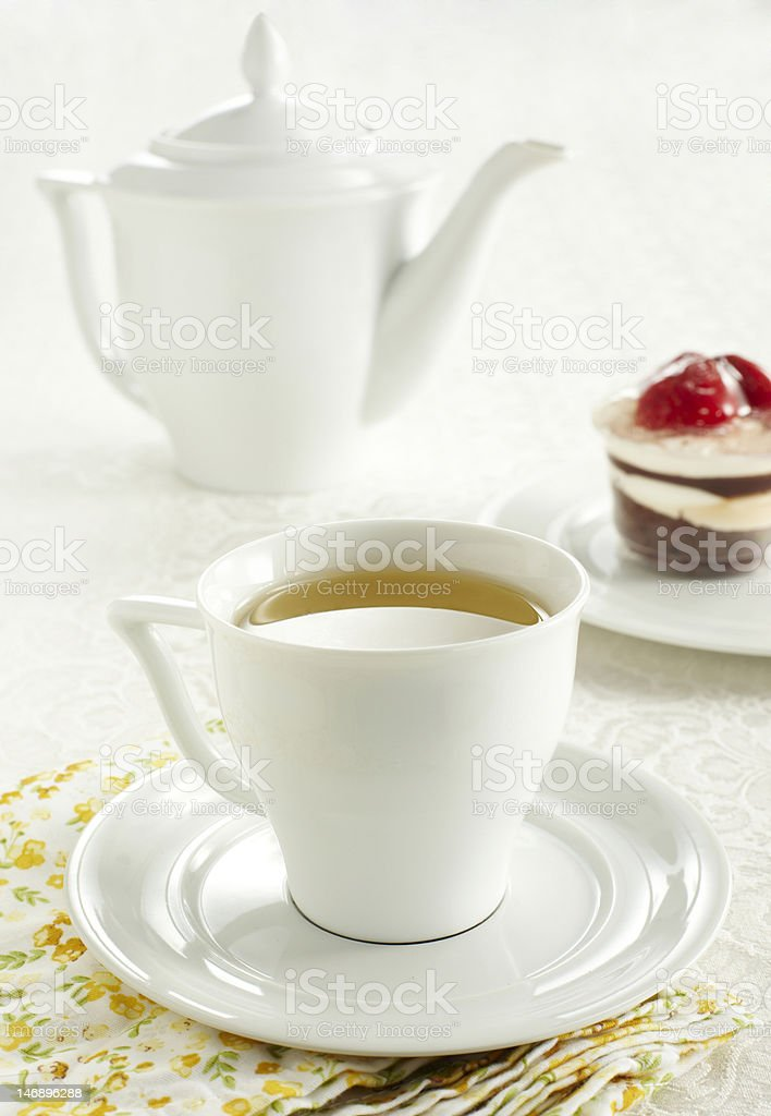 Ceramic tableware royalty-free stock photo