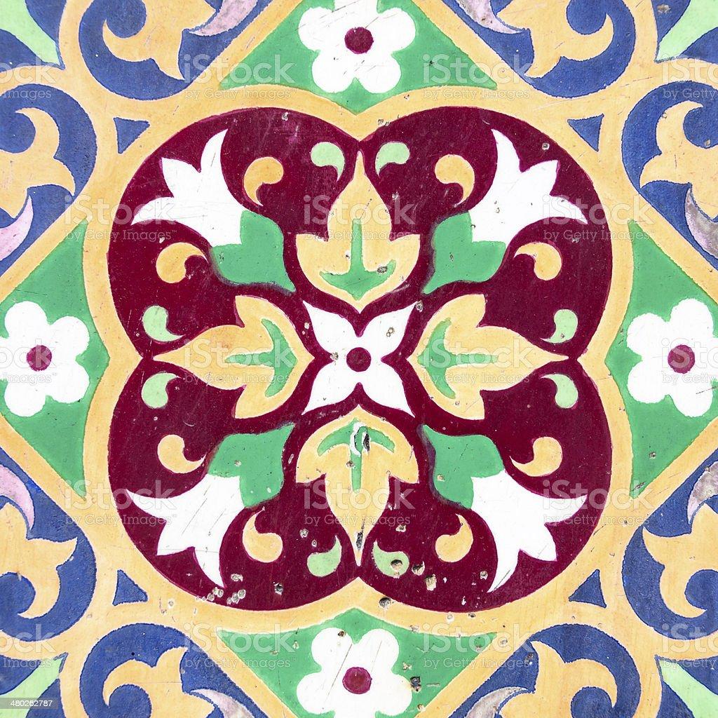 Ceramic tile closeup royalty-free stock photo