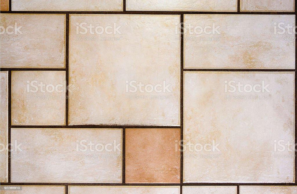 Ceramic Tile Floor royalty-free stock photo