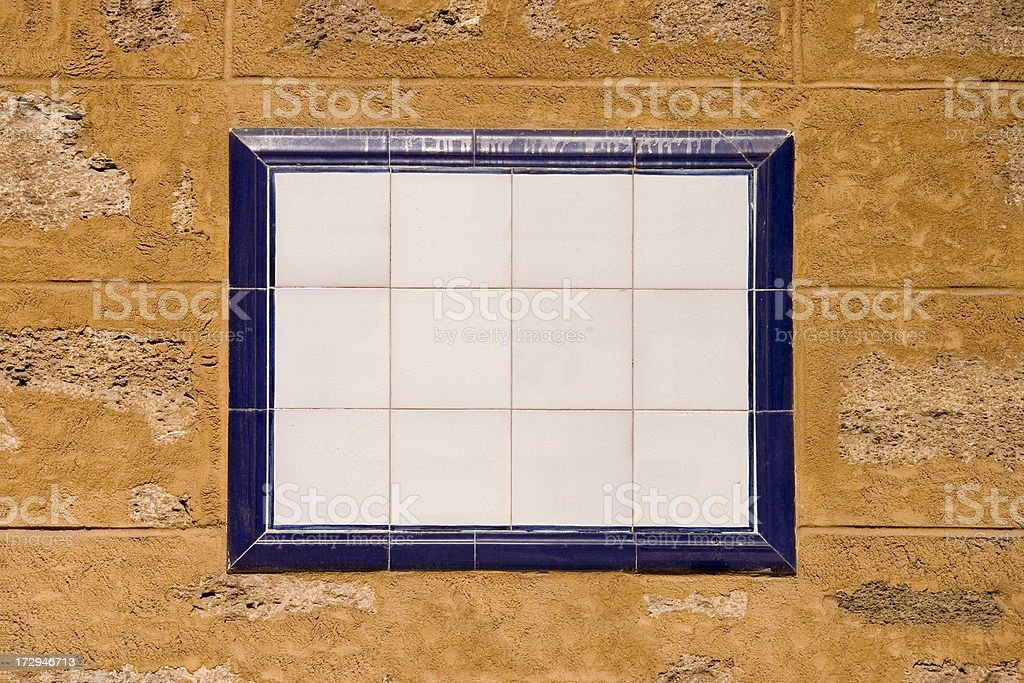 Ceramic Tile Panel royalty-free stock photo