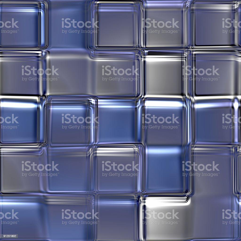 Ceramic tiles a mosaic; glass royalty-free stock photo