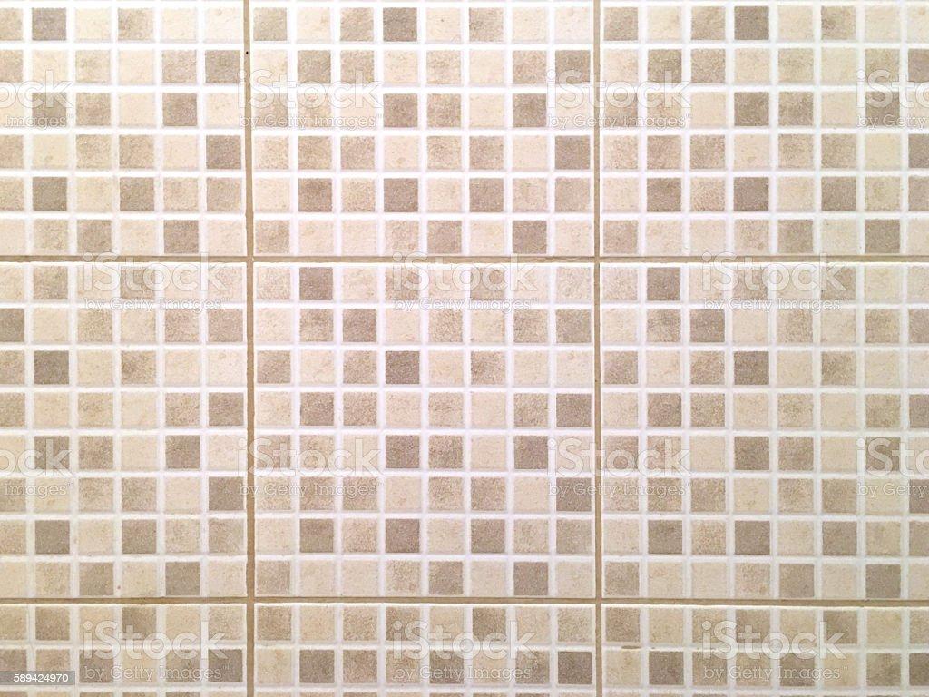Ceramic tiles a mosaic horizontal stock photo
