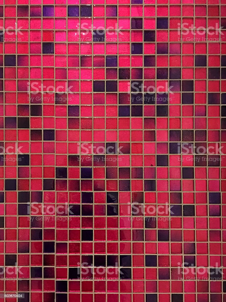 Ceramic tiles a mosaic stock photo