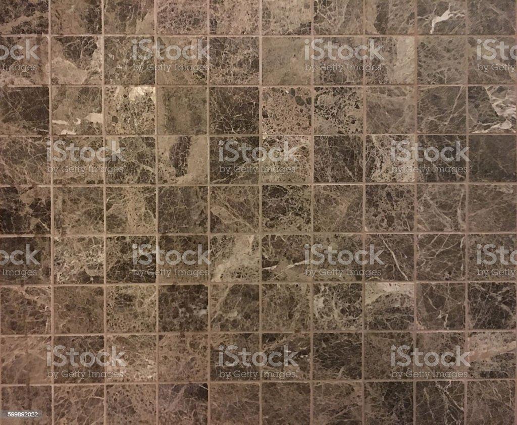 Ceramic tiles a mosaic stock photo