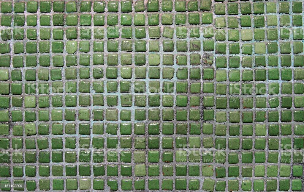 Ceramic tiles Mosaic royalty-free stock photo
