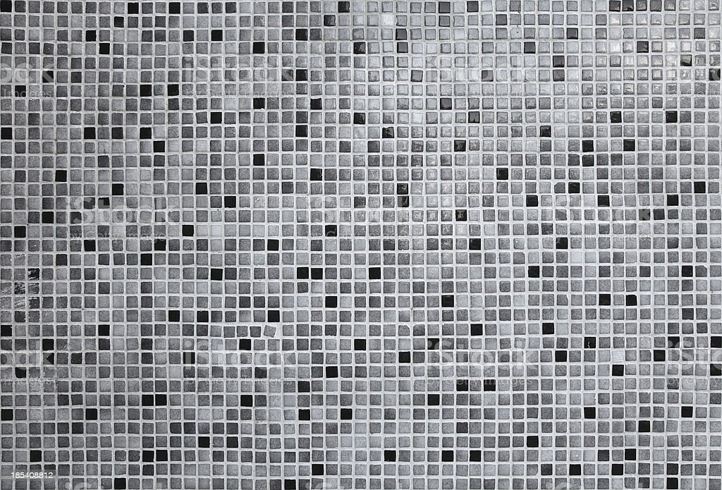 Ceramic tiles Mosaic stock photo