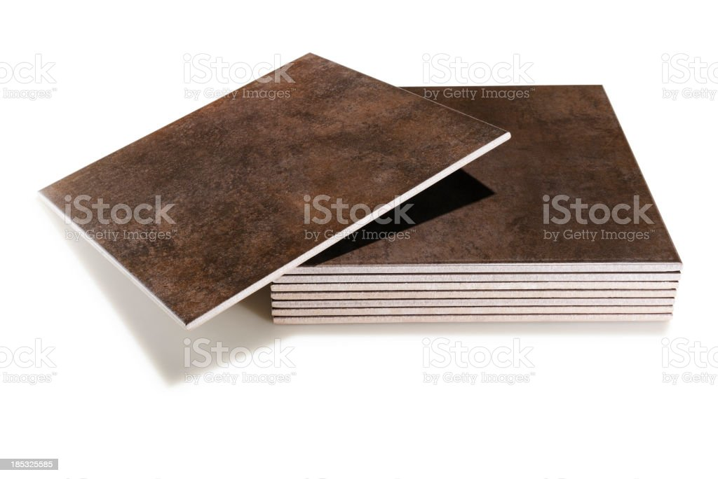 Ceramic tiles royalty-free stock photo