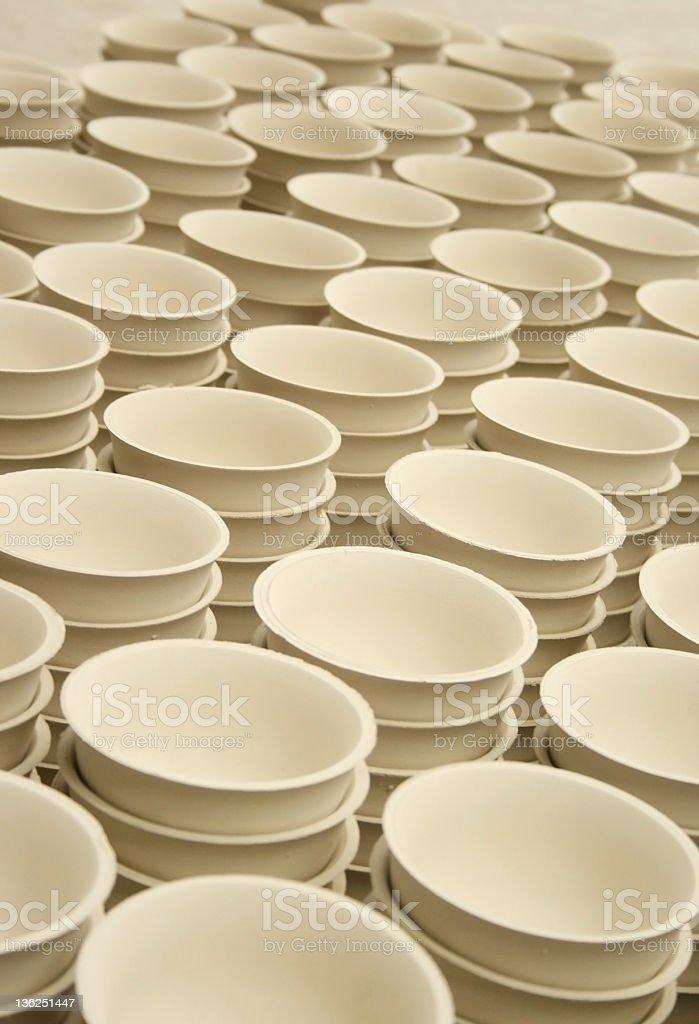 Ceramics Bowl royalty-free stock photo