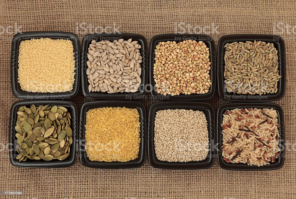 Cereal and Grain Selection royalty-free stock photo
