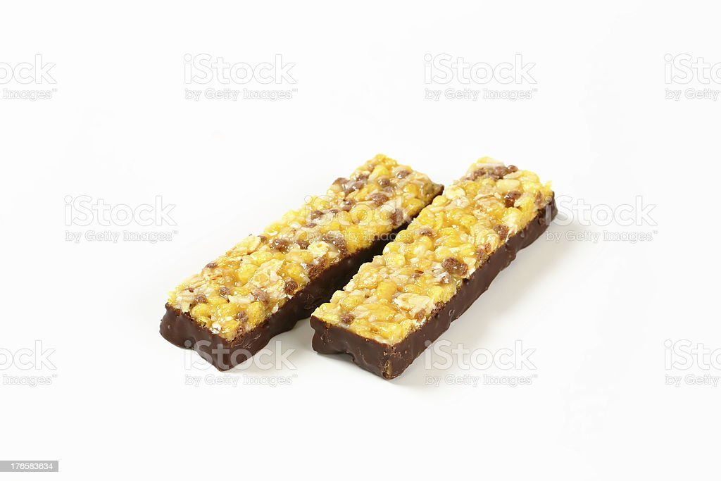 cereal bars royalty-free stock photo