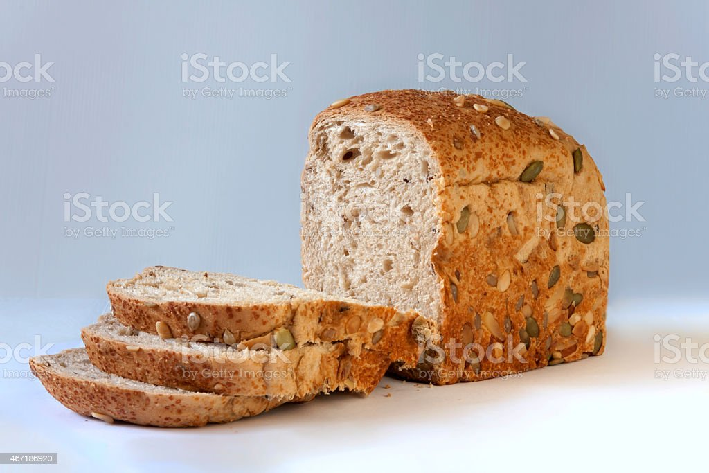 Cereal bread stock photo