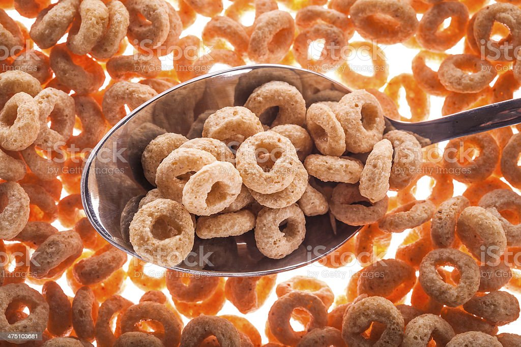 cereal breakfast royalty-free stock photo