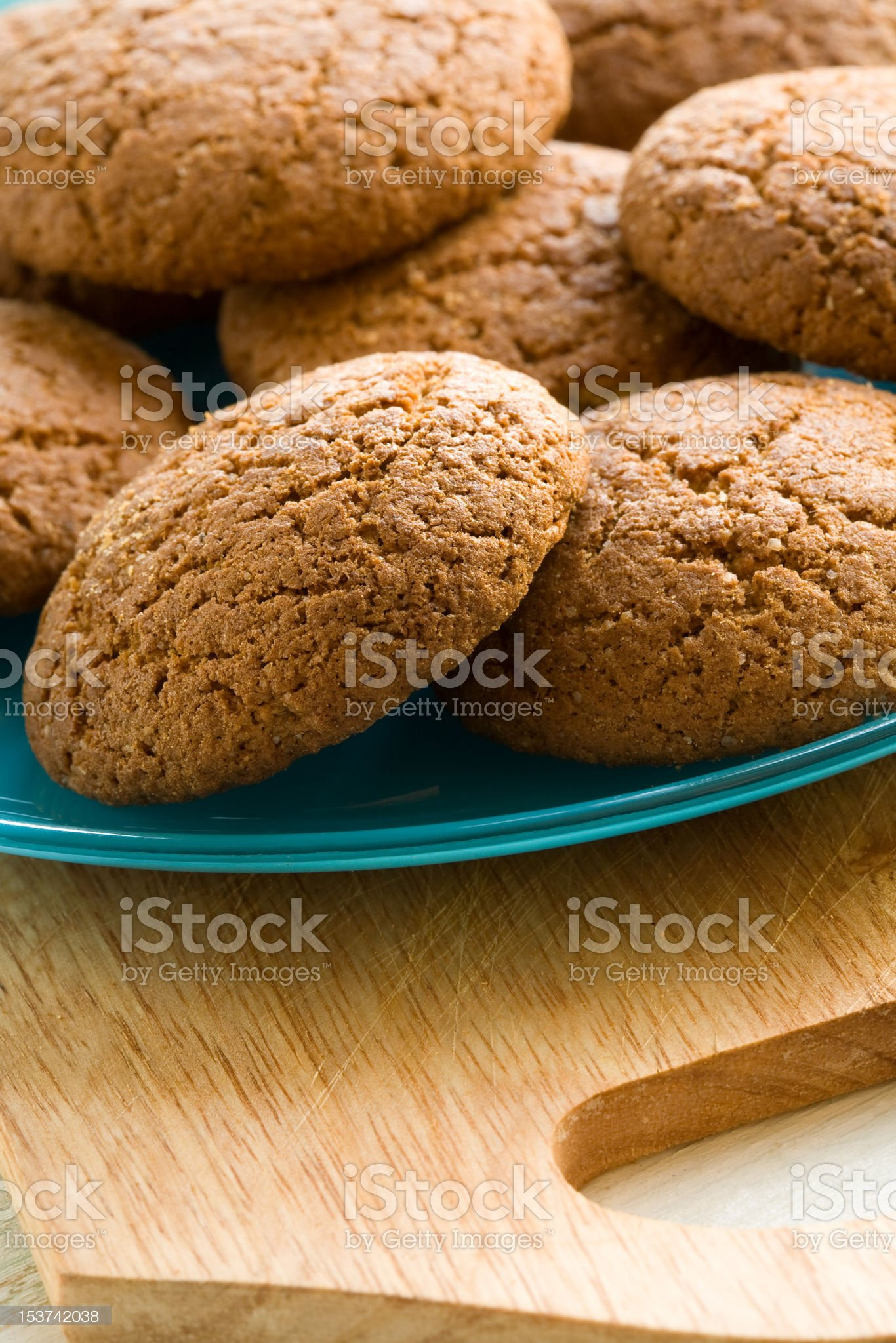 Cereal cookies royalty-free stock photo