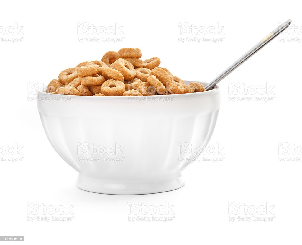 cereal flakes stock photo