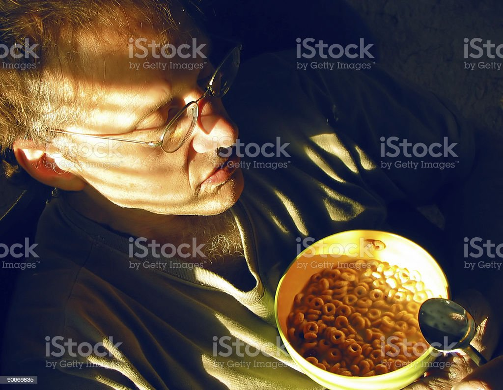 Cereal for the masses stock photo
