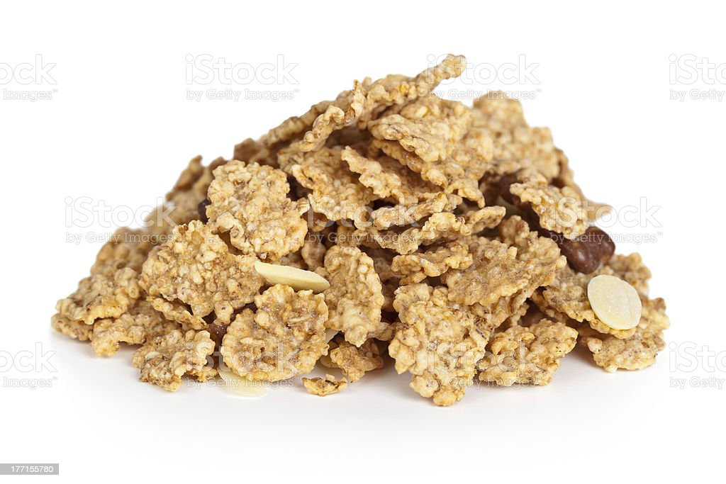 Cereal Muesli royalty-free stock photo