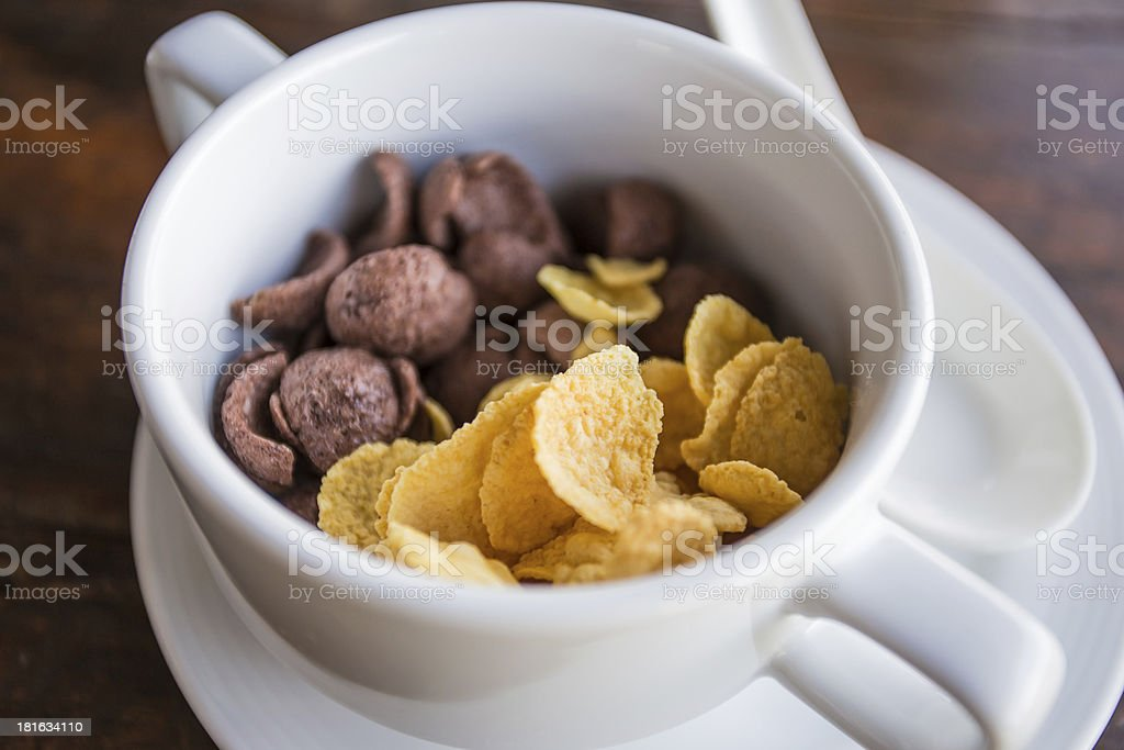 Cereal royalty-free stock photo