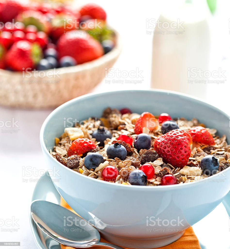 Cereals for Breakfast stock photo