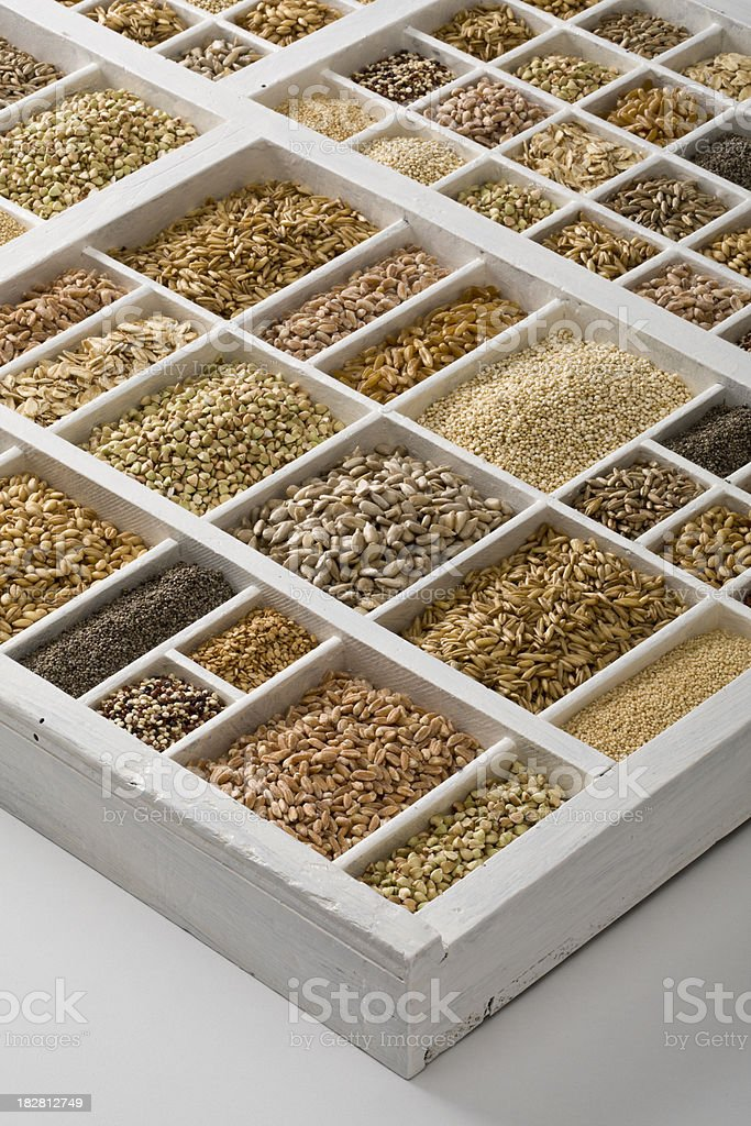 cereals variety royalty-free stock photo