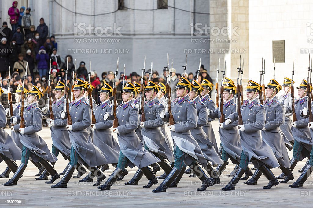 Ceremonial step royalty-free stock photo